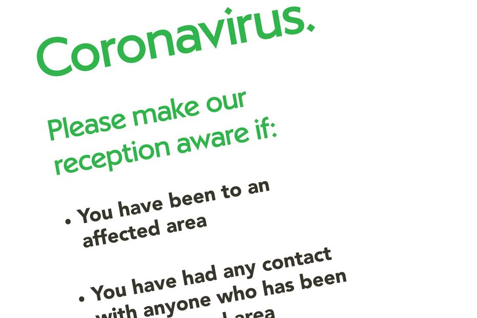 Coronavirus Public Advice Collateral