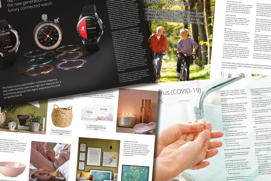 Magazine Design at Total Web Creations