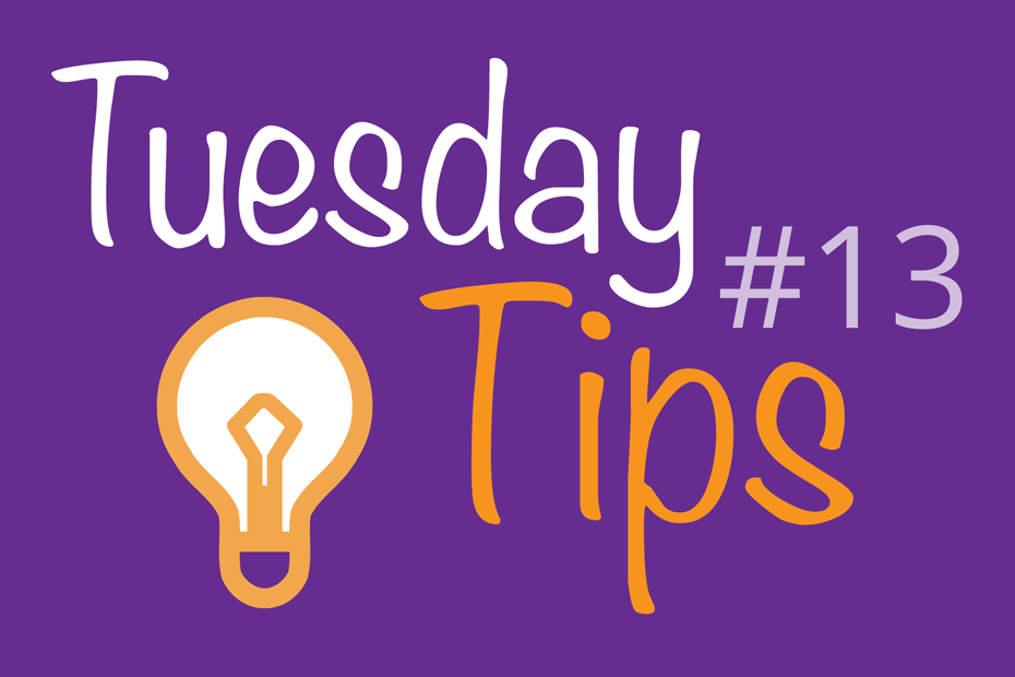 Total Web Creations Tuesday Tips #13