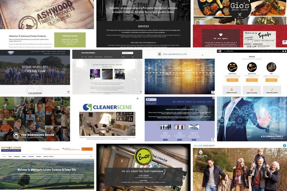 Diverse Range of Clients at Total Web Creations | Bespoke Website Design
