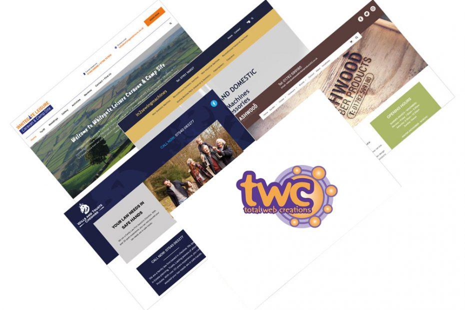 Website Work October 2020 at Total Web Creations | Websites | Design | Print