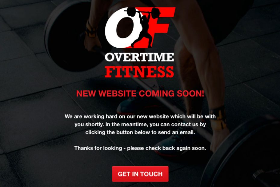 Logos and Business Branding | Overtime Fitness | Working with Total Web Creations